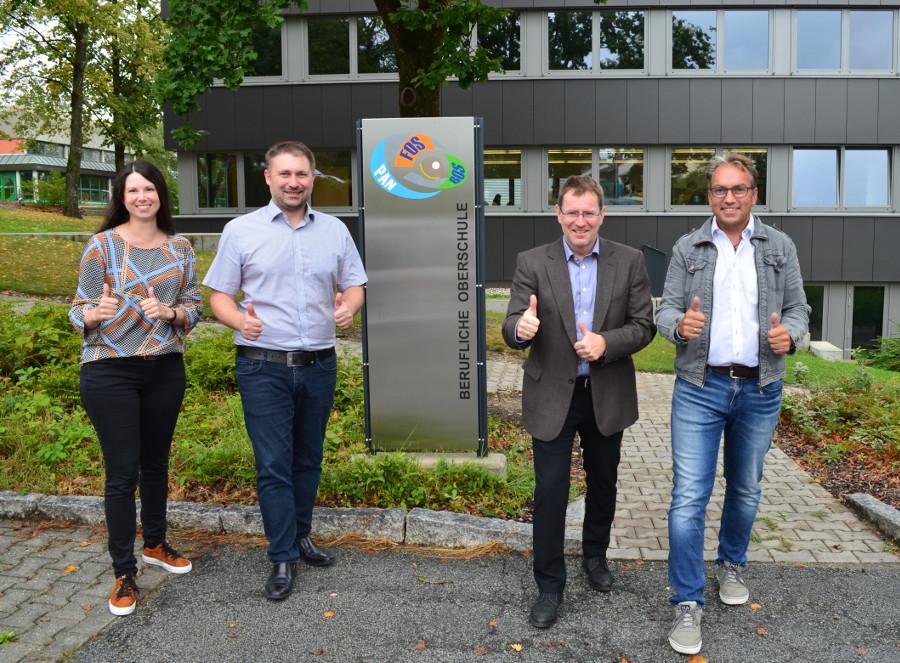 Andrea Müller, Stefan Weber, Wolfgang Schneider, Andreas Landthaler